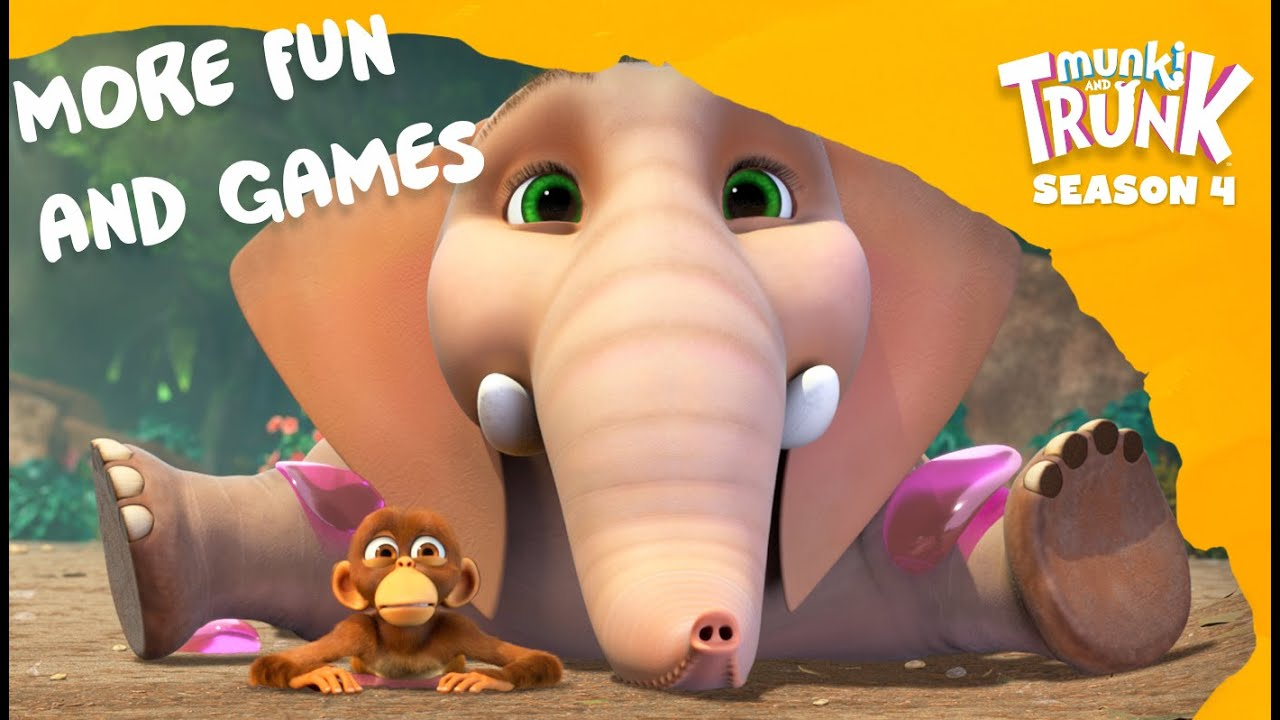 More Fun and Games– Munki and Trunk Thematic Compilation #11