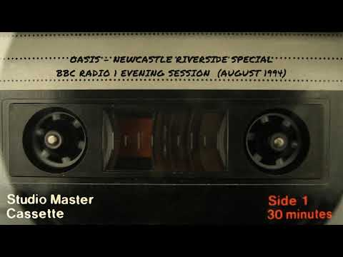Radio 1 Evening Session - Oasis Newcastle Riverside Special (August 1994)