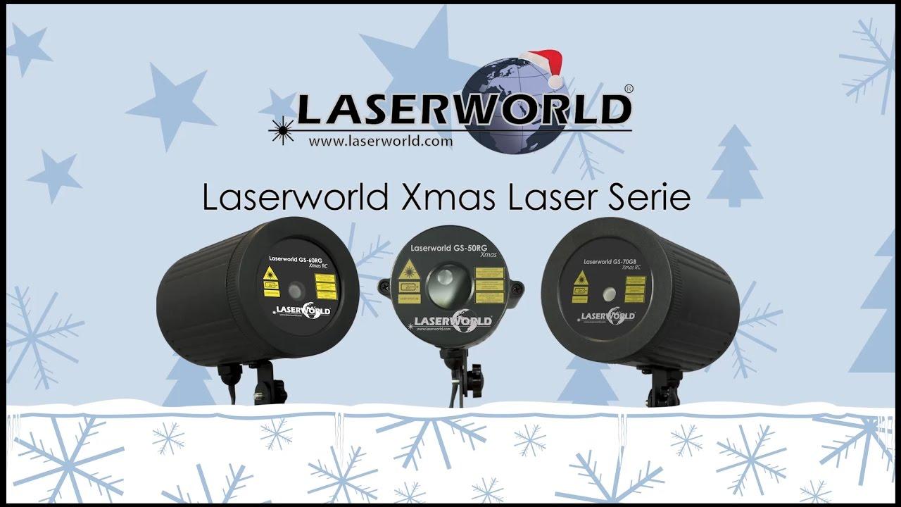 Exceptional Laserworld GS   Xmas   Laserworld Weihnachtslaser Serie   YouTube