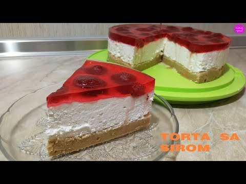 torta-sa-sirom---ne-peče-se-|-cheesecake