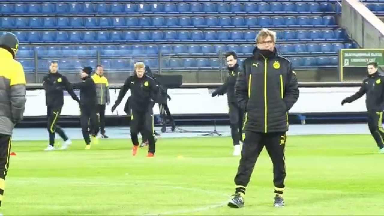 Jürgen Klopp gewinnt Testspiel und gratuliert Weltmeistern | Hessen Kassel - Borussia Dortmund 1:4