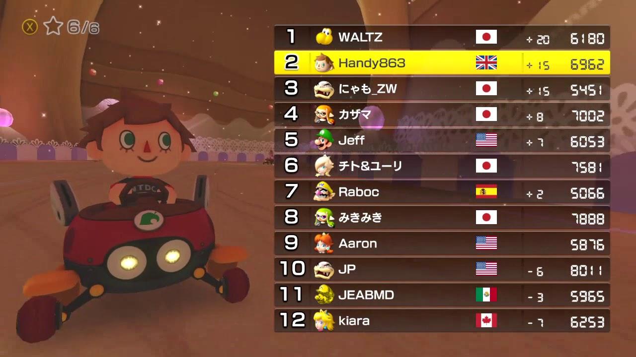 Mario Kart 8 Deluxe Worldwide Races 19 11 17 Wii Classic Controller