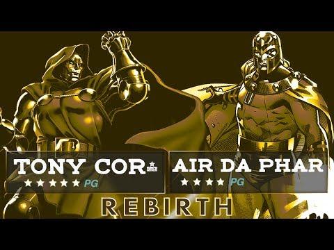 DOCTOR DOOM(TONY) VS MAGNETO(AIR) | AMAZING MARVEL BATTLE! [BATTLE RAP]
