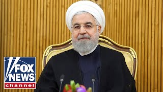 Iranian President Rouhani holds a press conference at United Nations
