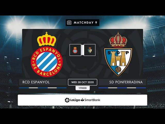 RCD Espanyol - SD Ponferradina MD9 X1900