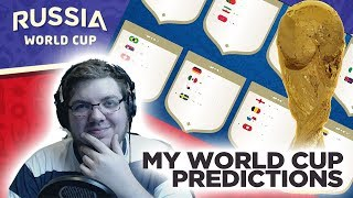 MY WORLD CUP PREDICTIONS! | RUSSIA 2018
