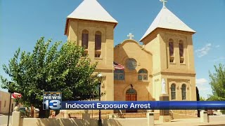 Man accused of exposing himself to crowd at New Mexico church