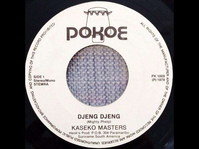 Kaseko Masters - Djeng Djeng - Mi Na Wan Indji (single) 1978