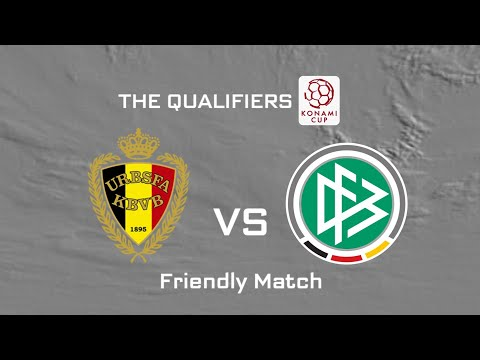 PES 2008: Road To Konami Cup (Friendly Qualifiers) - Germany VS Belgium