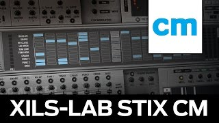 ÜCRETSİZ CASSİNİ-AU davul synth/sequencer: XİLS-lab StiX CM