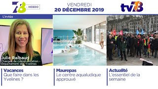 7/8 L'Hebdo. Edition du vendredi 20 décembre 2019