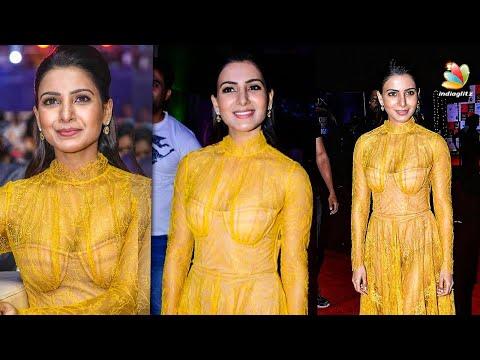 ரசிகர்களுக்கு Shock கொடுத்த சமந்தா | Samantha In Yellow Dress | Hot Tamil News