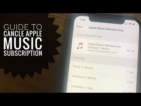 [2019] How to Cancel Apple Music Subscription on iPhone, iPad: iPhone XS Max, XS, iPhone XR, 8/7/6