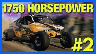 Forza Horizon 4 FORTUNE ISLAND : 1750 HORSEPOWER CAR!! (Part 2)