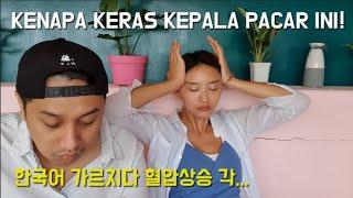 mengajarkan pacar Indonesia ba…
