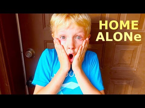 HOME ALONe In Real Life!
