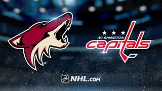 Carlson's OT goal lifts Caps to 3-2 win vs. Coyotes