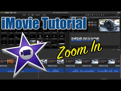 iMovie Tutorial 2016  How To Zoom In