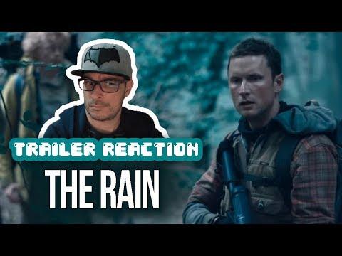 REACTION: The Rain Trailer #1 | Netflix