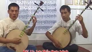Dạy hát chầu văn ĐÀN BÀI LƯU THUỶ 3