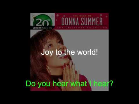 Donna Summer - Christmas Medley LYRICS - Remastered