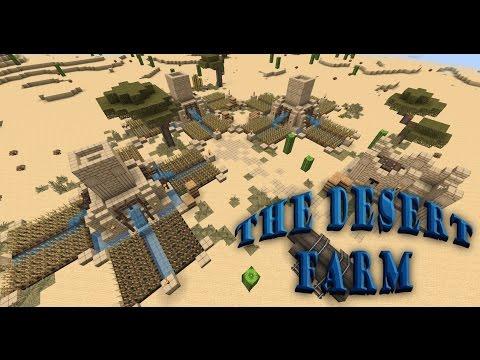 Minecraft: The Desert Farm / Ферма в пустыне