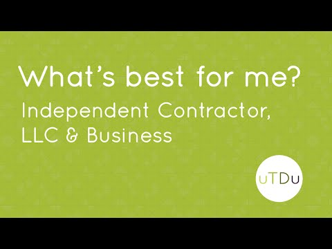 Independent Contractor, LLC & Businesses