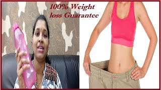 Weight loss 100% result NO EXERCISE ll Weight loss challenge ll Veeramachaneni Rama Krishna