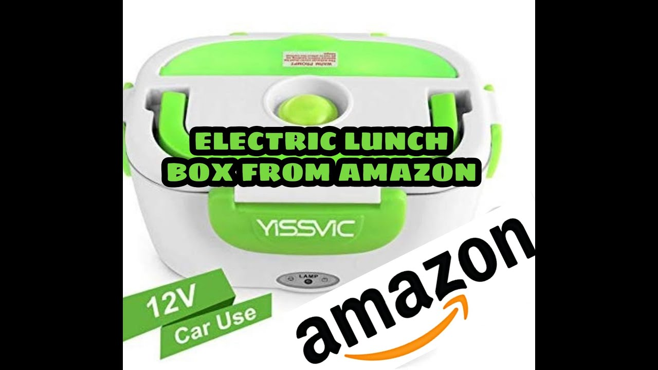 UNBOXING Electric lunch box 12v from Amazon