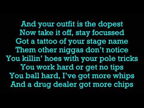 August Alsina Ft. Roscoe Dash - Work Lyrics