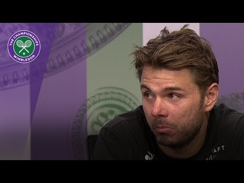 Stan Wawrinka Wimbledon 2017 first round press conference