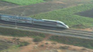اختبارات لتسيير القطار السريع في المغرب بسرعة ٢٧٥ كيلومترا في الساعة وقريبا ٣٢٠ كيلومترا في الساعة