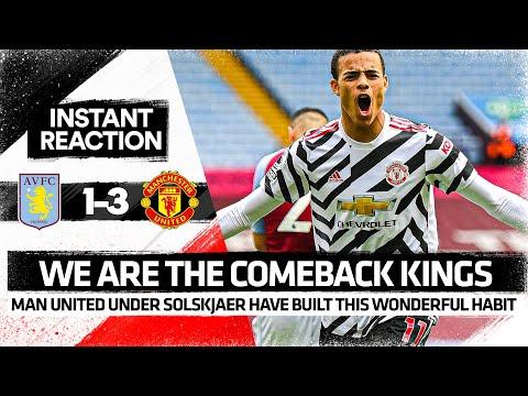 We're Comeback KINGS | Aston Villa 1-3 Manchester United