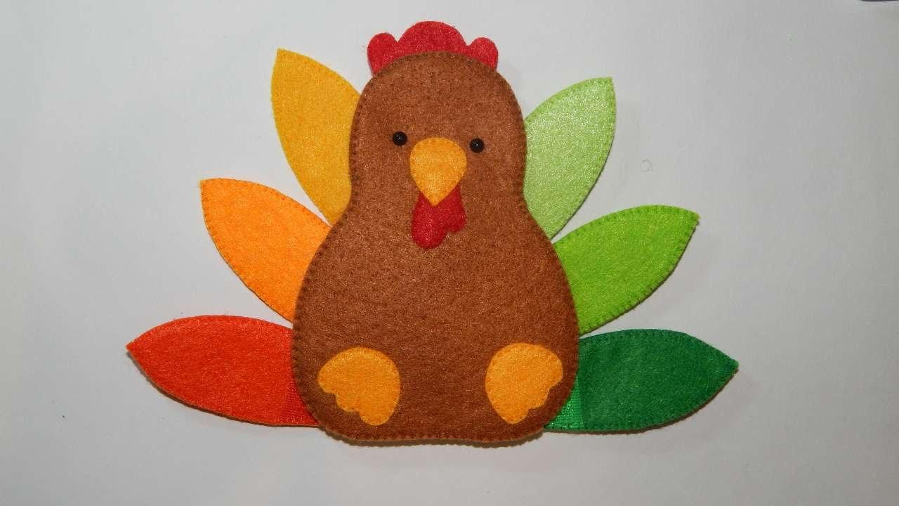 Turkey Kids Thanksgiving Craft