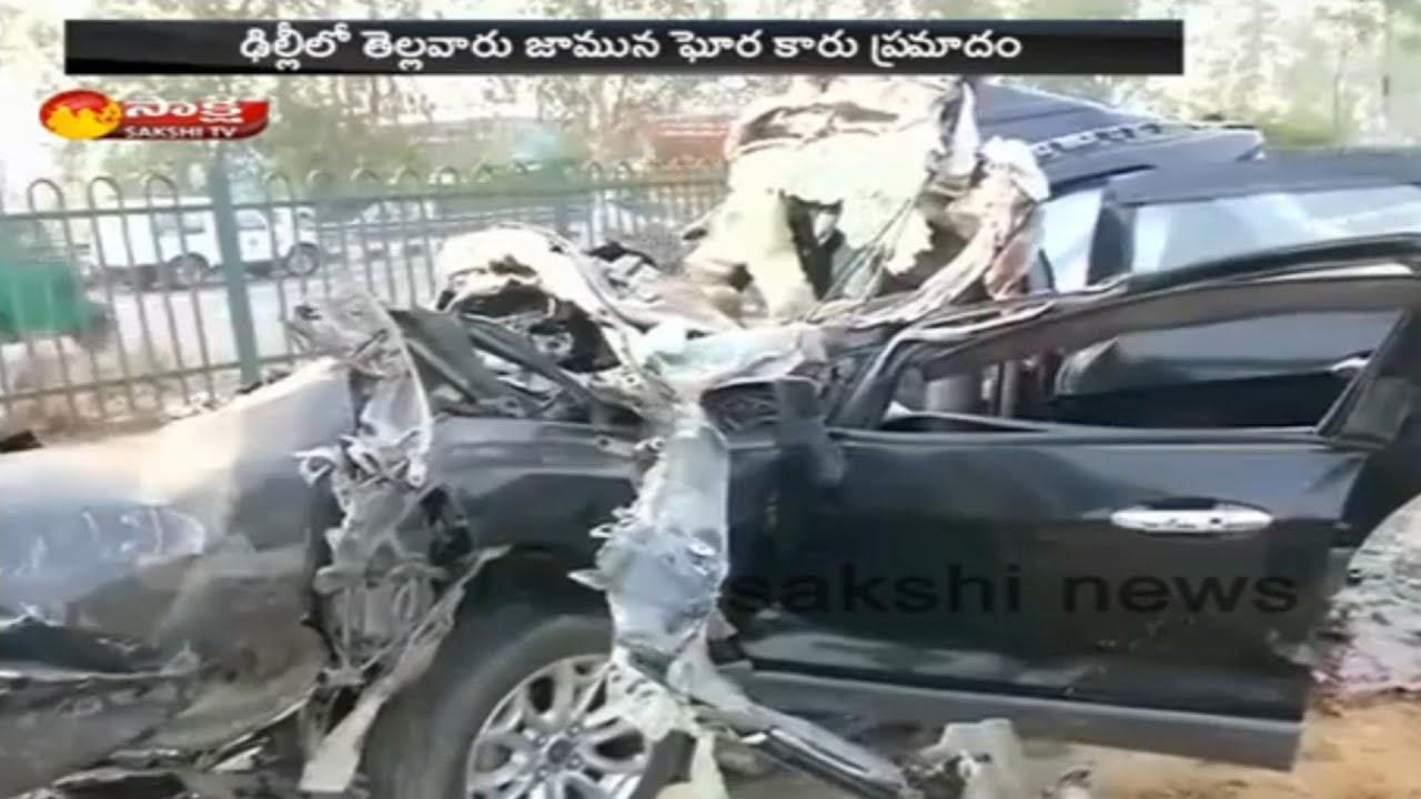 6 Died In A Road Accident In Delhi Gt Karnal Road - YouTube