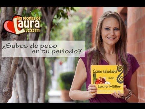 Subir de peso durante tu periodo Consejos para adelgazar Las Recetas de Laura