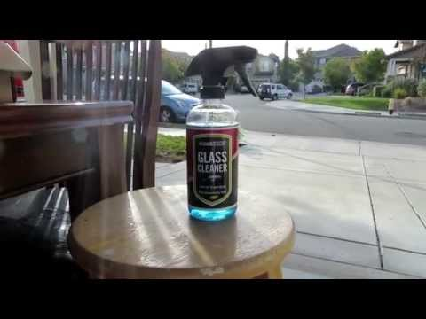 How to clean tinted car windows