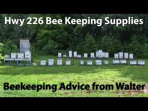 Walter Johnson Bee Supplies Hwy 226 South of Marion, NC