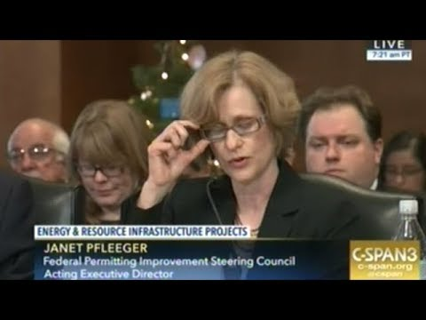 Senate Hearing On Federal Permitting For Energy Infrastructure Projects