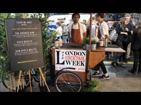 London Cocktail Week Radio Package