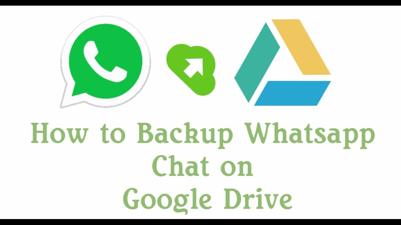 WhatsApp chat backups are stored in Google Drives
