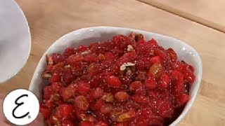 Extreme Fruit-filled Cranberry Sauce - Thanksgiving Recipes - Emeril Lagasse