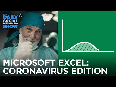 Microsoft Excel: Coronavirus Edition | The Daily Social Distancing Show