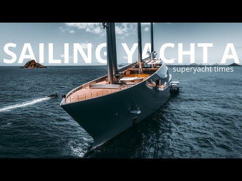 Super Sailing Yacht A In Saint Barths