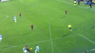Cagliari-Napoli 3-3...cori contro i napoletani...