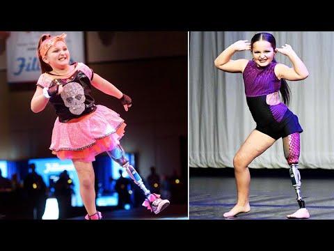 Lance Houston - 8-Year-Old Dancer Doesn't Let her Prosthetic Leg Slow Her Down!
