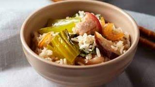 Mustard Green Pork Rice - One Pot Dish