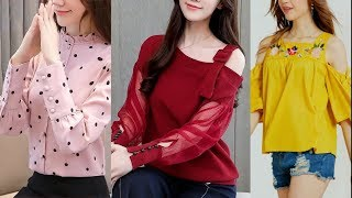 New top design 2019 Latest jeans top designs