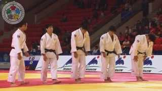 route to the final men s team japan astana judo world team championships 2015