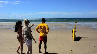 Beach Safety (Japanese) ビーチの安全について